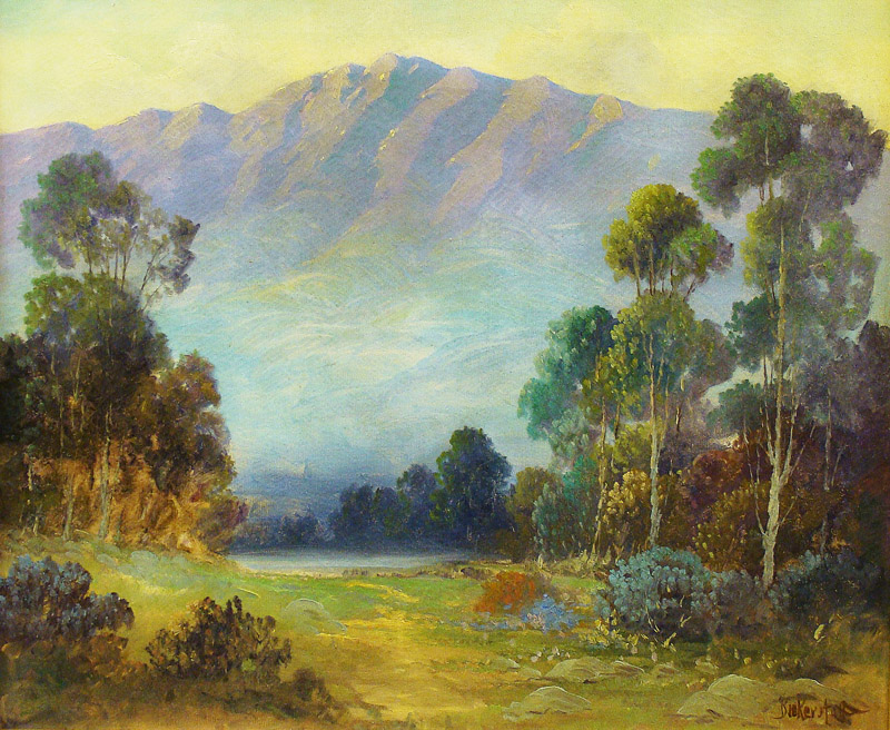 George S Bickerstaff La Canada Vista 25x30 Oil on Canvas