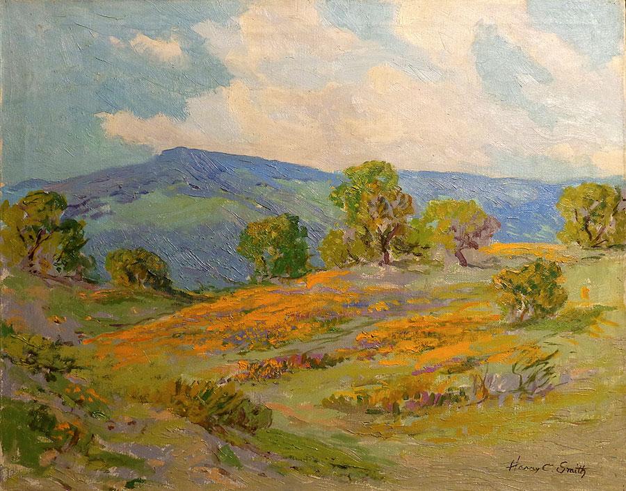 Harry C Smith California Gold 24x30 Oil on Canvas