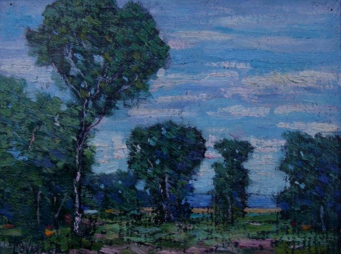 Henry Lovins California Eucalyptus 8x10 Oil