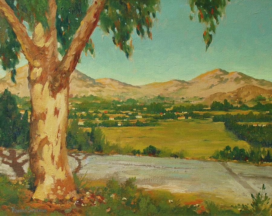 Howard Sherman California Vista 24x30 Oil on Board