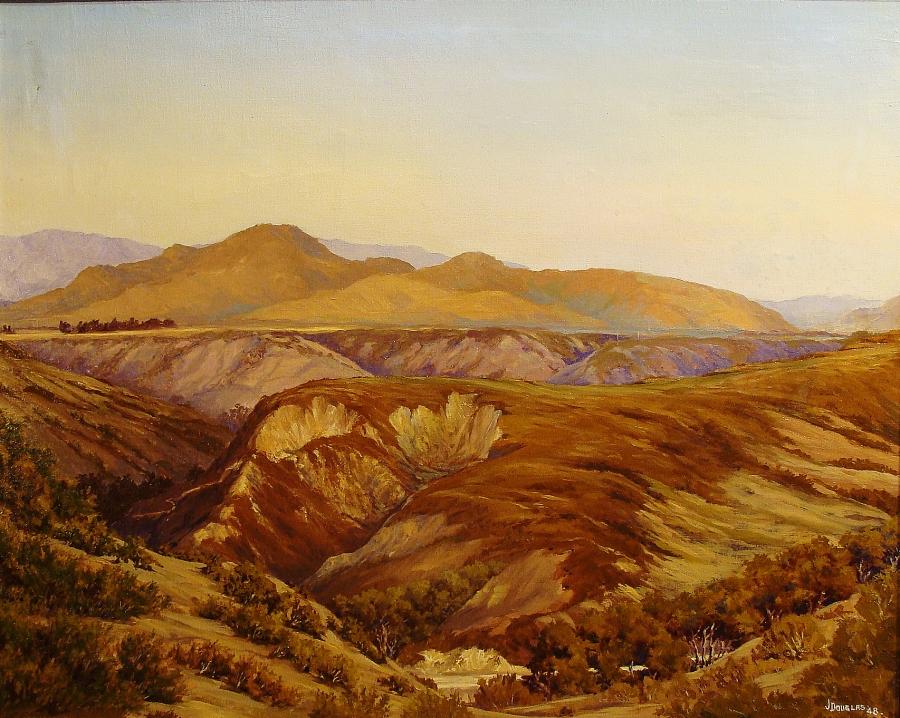 J Douglas Sorrento Canyon 24x30 Oil on Canvas