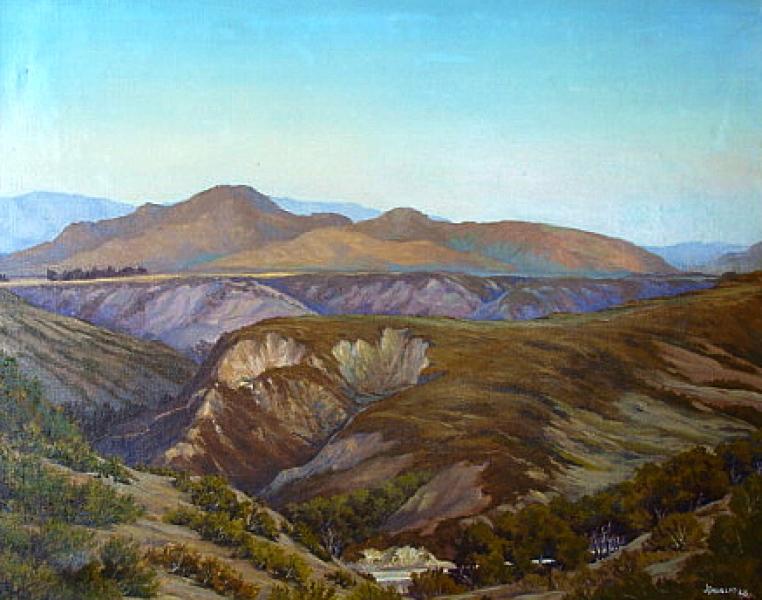 J Douglas Sorrento Canyon 24x30 Oil