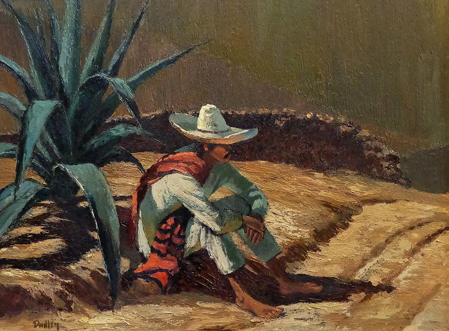 Jack Dudley Hombre de Tequila 18x24 Oil on Canvas