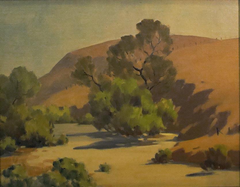 Jack Macartney Desert Hills 14x18 Oil on Board