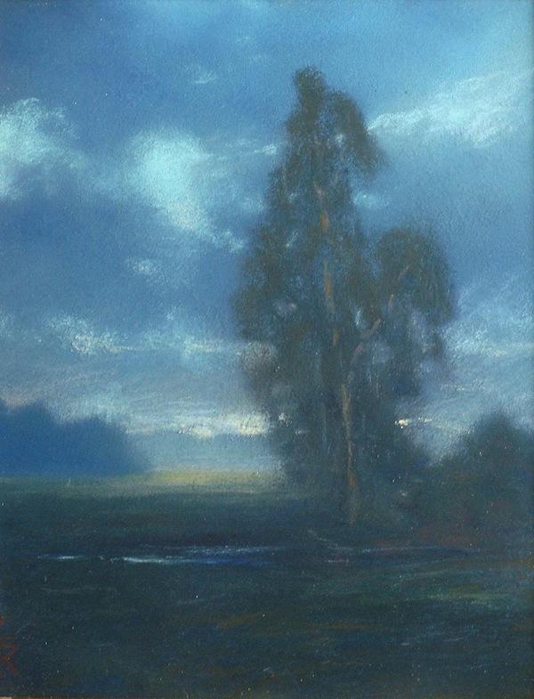 Johannes Reimers The Eucalyptus 8x6 Pastel