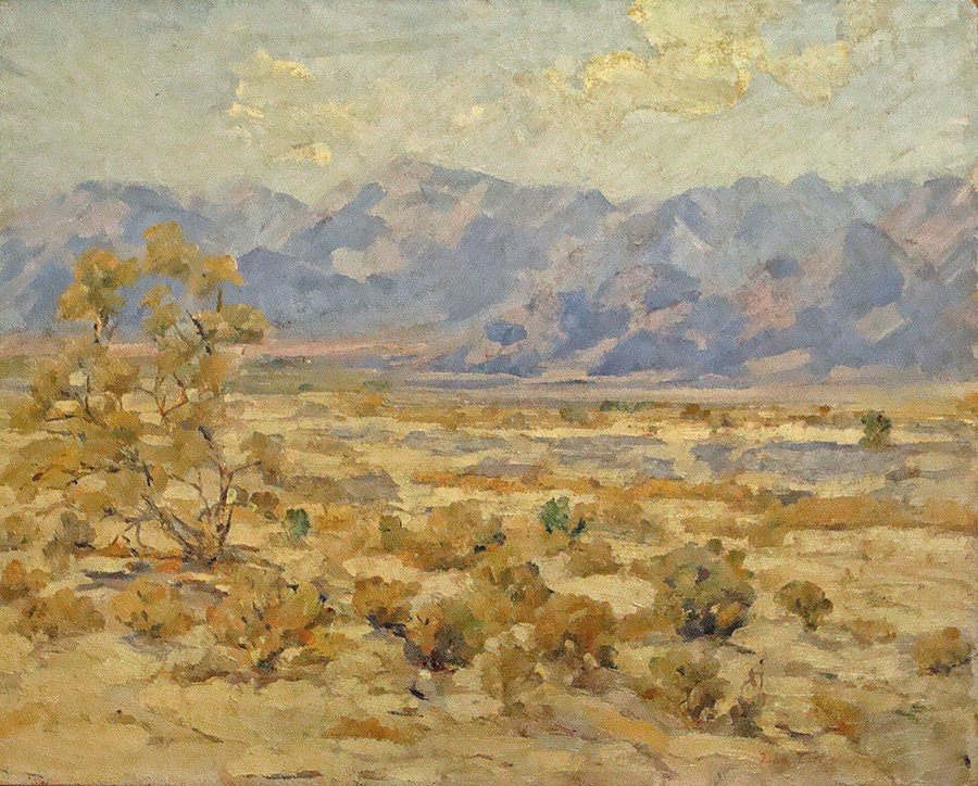 John C Doemling Desert Hills 16x20 Oil on Canvas