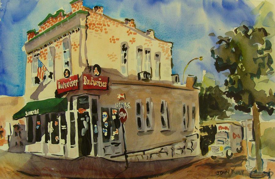 John Dunn Budweiser 14x21 Watercolor