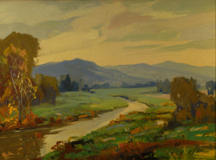 John Zwara The Arroyo 18x24 Oil on Canvas