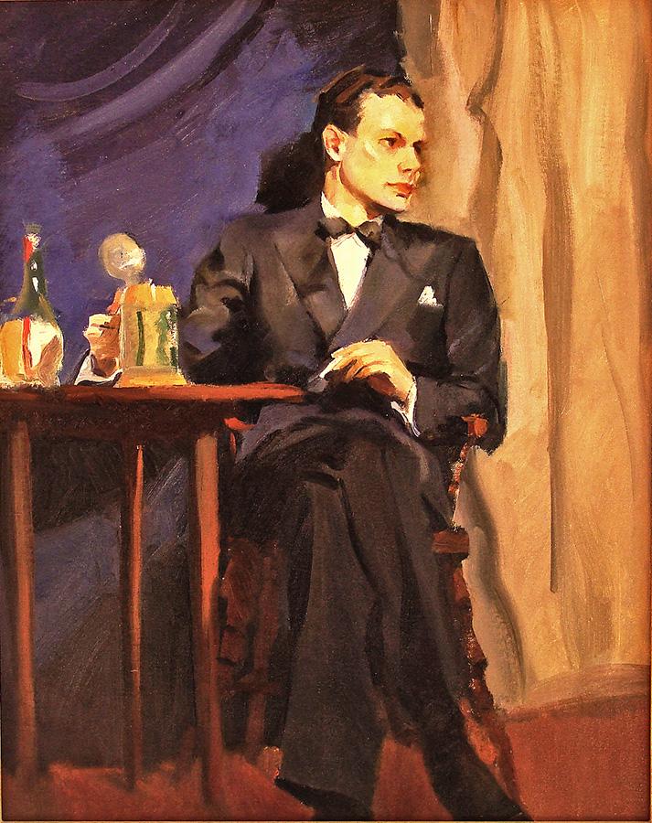Ralph von Lehmden The Tuxedo 20x16 Oil on Canvas Board