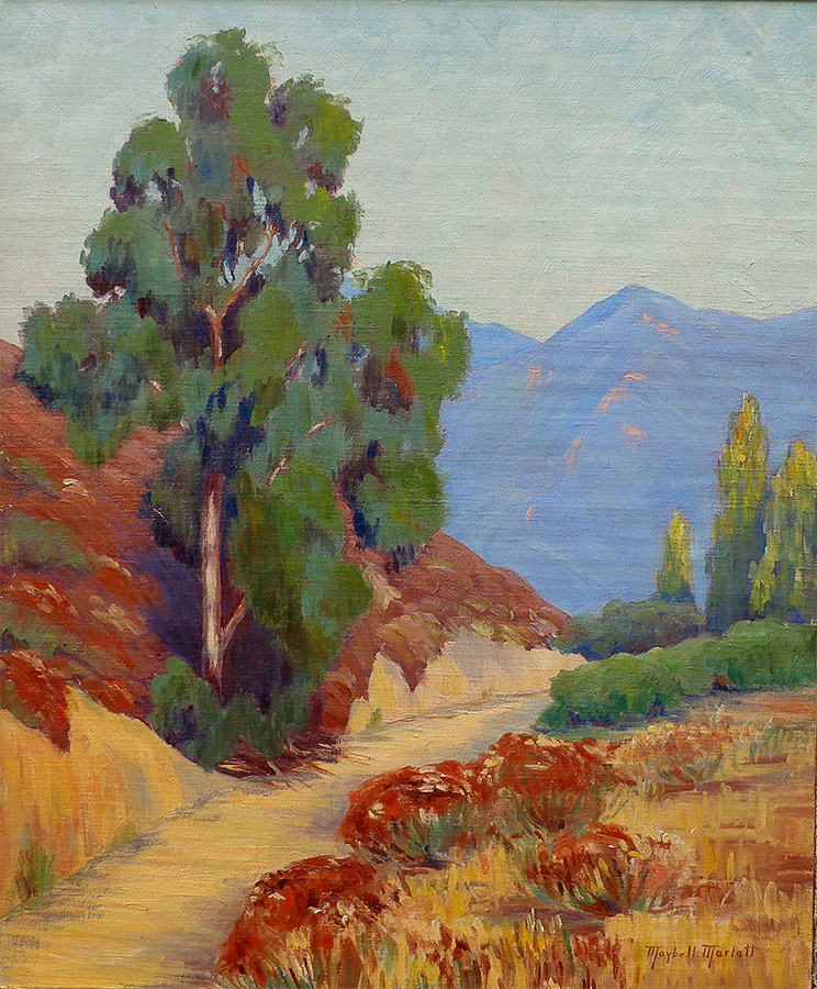 Maybell Marlatt Mountain Road 24x20 oil on canvas