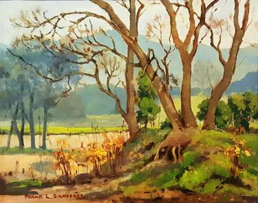 Frank L Sanford California Autumn 20x24 Oil on Canvas