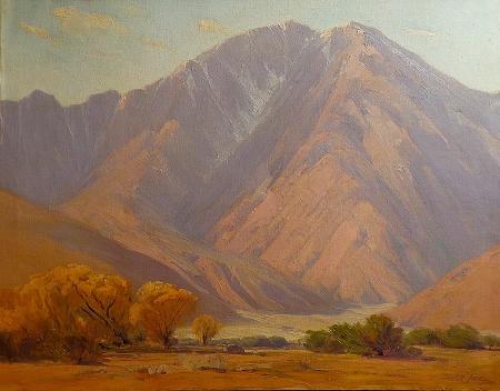 Ralph Love San Jacinto 30x38 Oil on Canvas