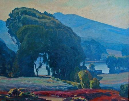 Aaron Kilpatrick Bay Wood 24x30 Oil on Canvas