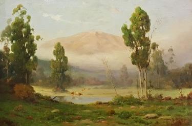 Angel Espoy Eucalyptus Mist 20x30 Oil on Canvas