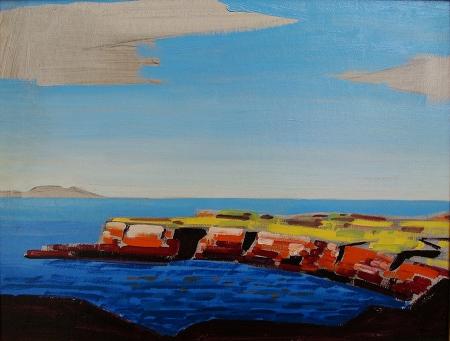 Conrad Buff Point Conception 15.5x20 Oil on Board