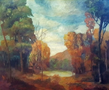 Harry Waddell Autumn Colors 25x30 Oil on Canvas