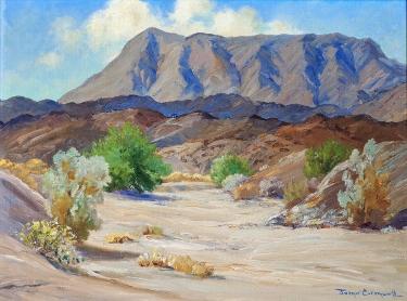 Joane Cromwell Ramon Canyon 12x16 Oil on Canvas Board