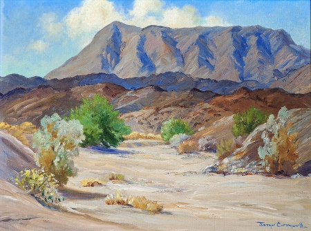 Joane Cromwell Ramon Canyon 12x16 Oil on Canvas Board