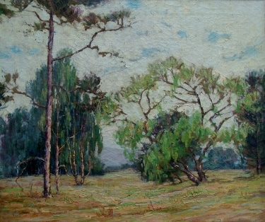 Mary L. Fry California Landscape 20x24 Oil on Canvas