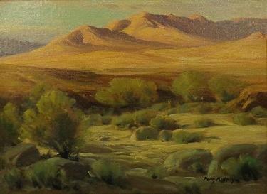 Perry McNeeley Desert Vista 12x16 Oil on Board