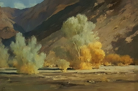Ralph Love Pride of the Desert 24x36 Oil on Canvas