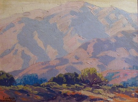 Sam Hyde Harris Desert Highlights 12x16 Oil on Board