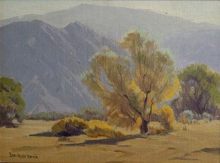 Sam Hyde Harris Hazy Day 12x16 Oil on Canvas Board