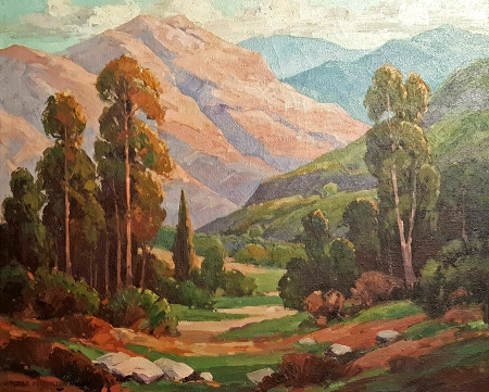 Walter Farrington Moses La Cresenta Afternoon 24x30 Oil on Canvas