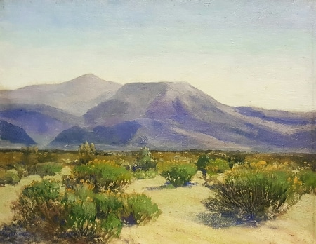 William A Griffith Blue Mountains 16x20 Oil on Board
