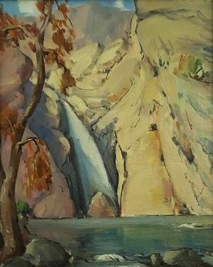 Wilton McCoy Taquitz Canyon 12x9 Oil on Canvas