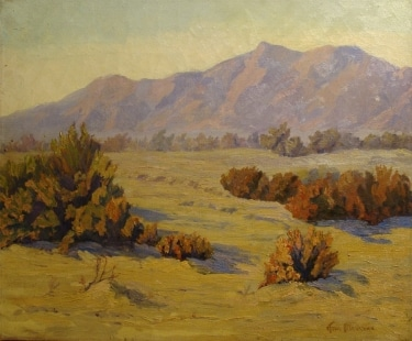 Ann Blessner California Desert 20x24 Oil on Canvas