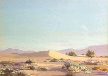 Ralph Arthur Lytle Desert Dune 9x13 gouache 350
