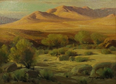 Perry McNeeley Desert Vista 12x16 Oil on Board