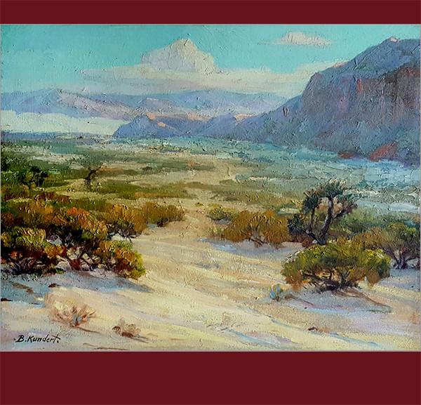 Balthasar Kundert, Desert Scene,