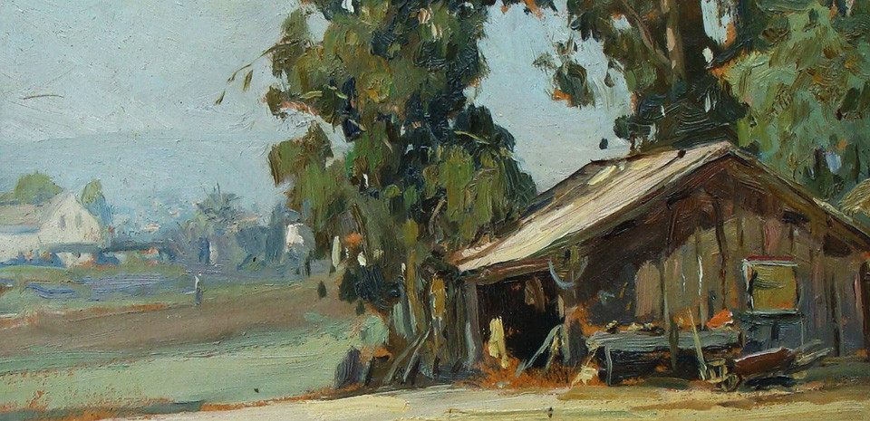 Angel Espoy California Farm Landscape