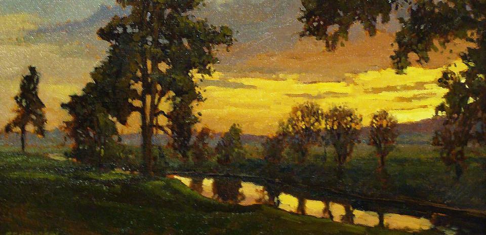 Jan Schmuckal Long Shadows at Sunset